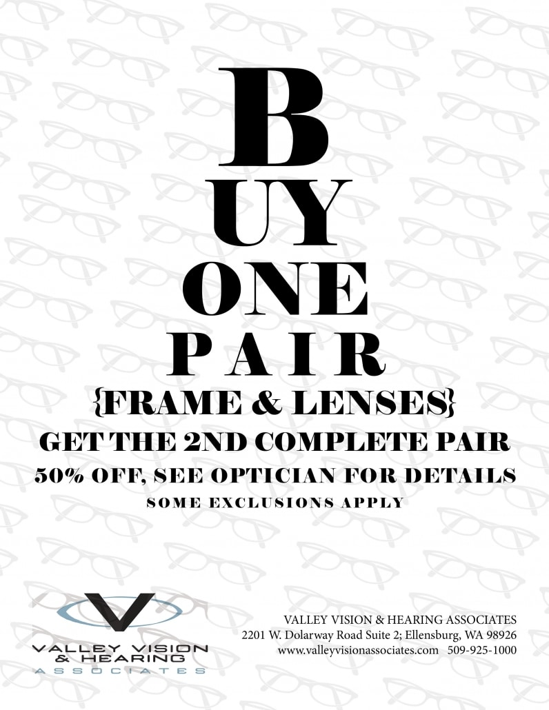 Valley Vision Promotion Eye Chart